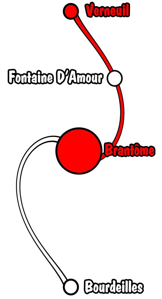parcours verneuil brantome